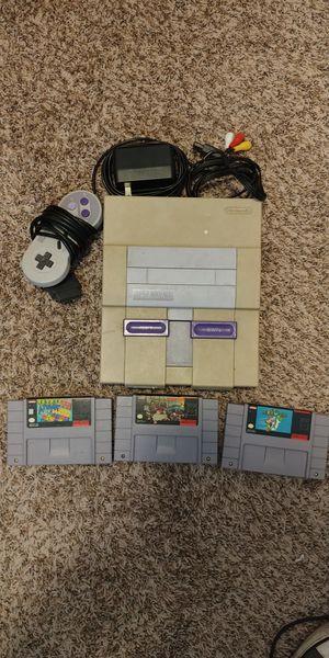 Super Nintendo bundle for Sale in West Jordan, UT
