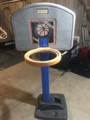 Fischer Price adjustable basketball hoop for Sale in Oakbrook Terrace, IL