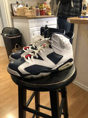 Air Jordan Retro 6 Olympic 2012 edition for Sale in Forest Grove, OR