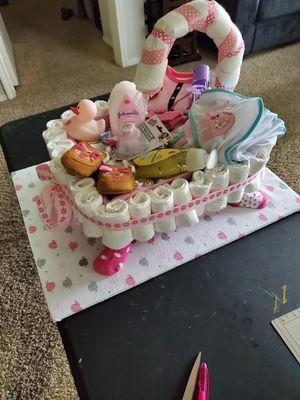 Bathtub Diaper cake for Sale in Riverside, CA