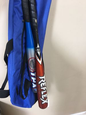 Baseball bats and bag for Sale in Revere, MA