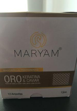 Oro Keratina & Caviar hair Colombian hair treatment for Sale in Miami, FL