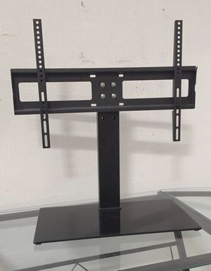 New in box 30 to 60 inches tv television stand replacement 120 lbs capacity dresser table tv stand tv mount soporte de tv for Sale in San Dimas, CA