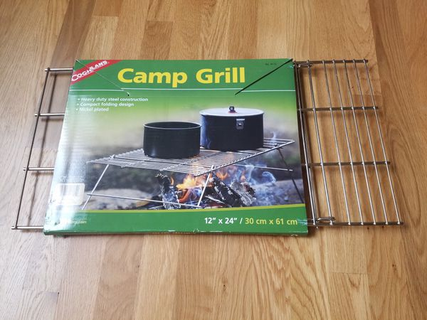Brand new camp grill