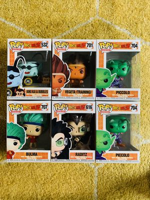 Dragonball Z Funko Pop 3 for $25 YOU PICK!!! for Sale in Whittier, CA