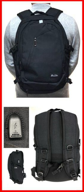 Brand NEW! Black Travel Backpack For Everyday Use/Outdoors/Hiking/Biking/Traveling/Work/Sports/Gym/Gifts/School for Sale in Carson, CA