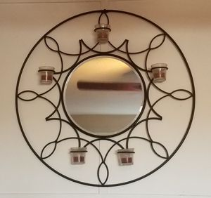 Wrought Iron Wall Mirror for Sale in Lawndale, CA