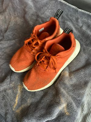Adidas NMD R2 Orange red size 10.5 for Sale in Woodinville, WA