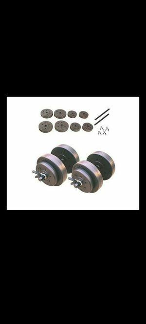 40lb Adjustable Dumbells New for Sale in Garden Grove, CA