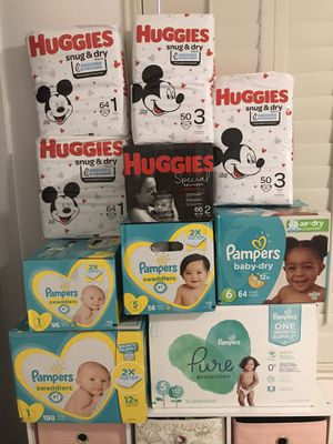 Diapers (all for $160) for Sale in Henderson, NV