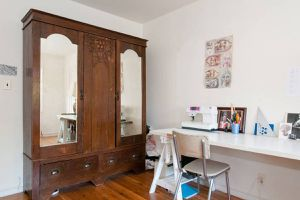 Early 1900s antique wardrobe armoire dresser for Sale in Oakland, CA