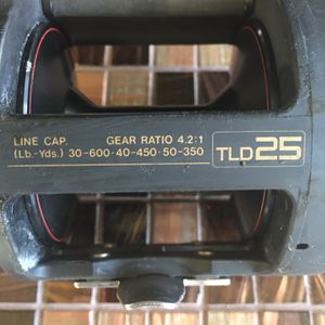 Shimano TLD 25 for Sale in Rancho Cucamonga, CA