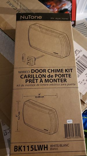 Nutone door chime kit for Sale in Germantown, MD