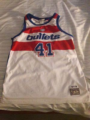 Mitchell & Ness Washington Bullets NBA Hardwood Classics for Sale in Fairfax, VA