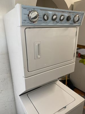 """WHIRLPOOL STACKABLE 27"""" GAS HEAVY DUTY UNIT for Sale in West Covina, CA"""