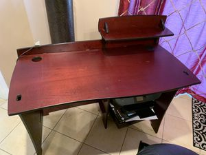 Cherry wood laminate desk for sale for Sale in San Diego, CA