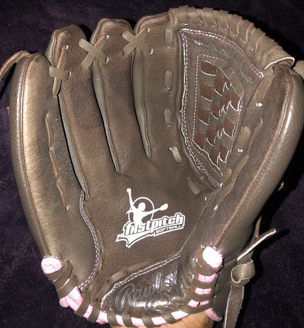 Left-Handed Throw Rawlings Fast Pitch Softball Glove