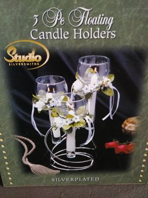 Floating candle set for Sale in Taunton, MA