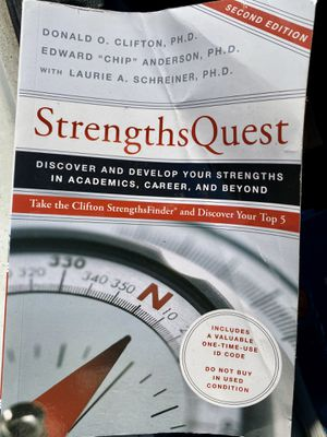 Strengths Quest textbook for Sale in Orlando, FL