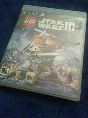 PS3 LEGO STAR WARS III for Sale in Torrance, CA