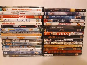 Lot of 32 Mixed DVD's Titles Listed In Text for Sale in Kirkland, WA