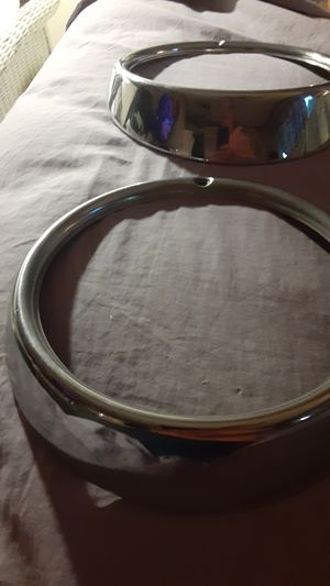 VW Type 3 Hella headlight rings almost perfect for Sale in Menifee, CA