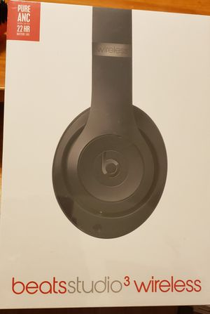 Beats Studio 3 Wireless Black - Brand New Sealed for Sale in New York, NY