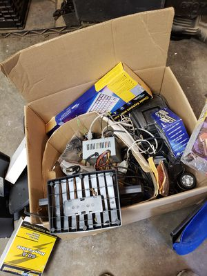 Box of computer parts for Sale in Webster Groves, MO