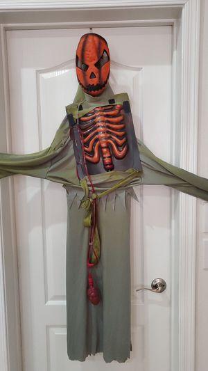 Kids Bleeding Pumpkin costume (size M, 8-10) for Sale in Gilbert, AZ