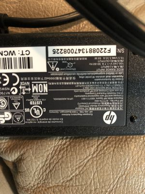 HP laptop charger - Brand new - 100-240V-1.7 A 50-60 Hz-MOVE OUT SALE for Sale in Irving, TX