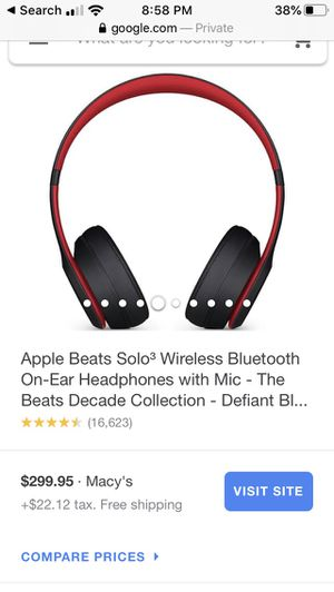 Beats Solo3 wireless for Sale in Fridley, MN