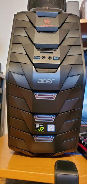 Predator G3 Gaming Pc. Intel i7 Core-6700 3.40Ghz CPU 6th Gen. GPU: GTX 970 4GB, 24GB of Ram DDR4, 4TB of HDD for Sale in Rosemead, CA