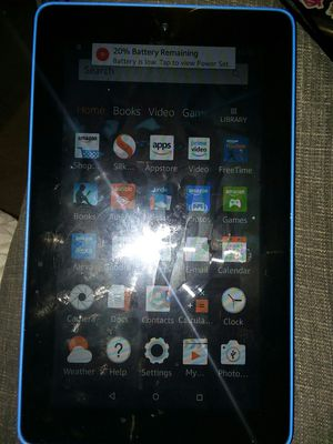 Fire Kindle tablet in great condition only a month old must pick up Williamsport pa for Sale in Williamsport, PA