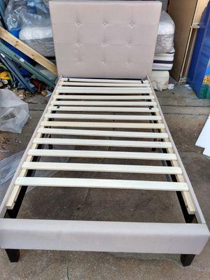 Twin Upholstery Bed for Sale in Hazelwood, MO