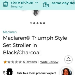 Maclaren Triumph British Stroller And Travel Bags for Sale in Los Angeles, CA