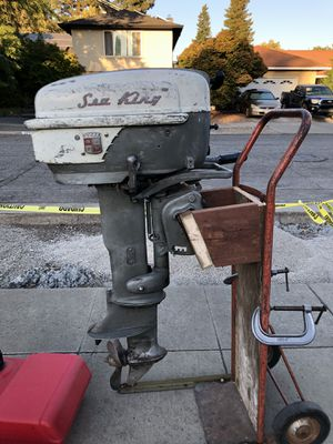1950's 12 hp Sea King Outboard for Sale in Los Gatos, CA