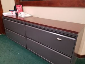 Like new low file cabinets for Sale in Boston, MA
