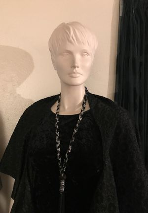 Halloween sale, plus size full body manikin mannequin with stand for Sale in San Jose, CA