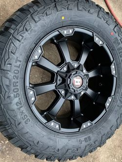 """New complete set 20"""" Ford Factory Rims and Tires Factory Stock Wheels F250 F350 20s Rines y Llantas Ford F150 , Chevy Silverado, GMC Sierra , Toyota T for Sale in Dallas,  TX"""