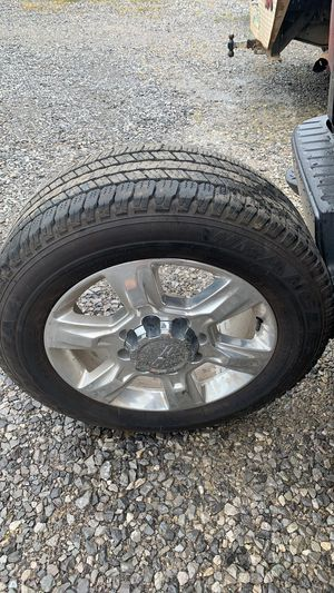 Gmc 8 lug stocks. Have all 4. Tires almost brand new still. for Sale in Madisonville, TN