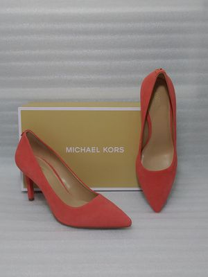 Michael Kors heels. Size 8.5 women's shoe. Suede. Brand new in box for Sale in Portsmouth, VA