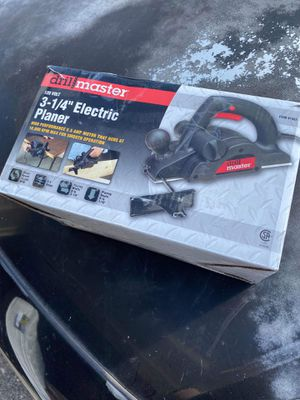 Electric planer for Sale in Killeen, TX