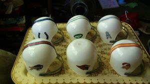 Used, Vintage 1970s Dairy Queen NFL football ice cream sundae helmet cups for Sale for sale  Tacoma, WA