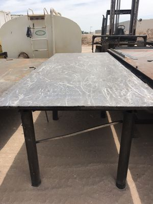 Welding tables available! All different sizes with steel plate tops ! I can load them with my forklift! for Sale in Las Vegas, NV