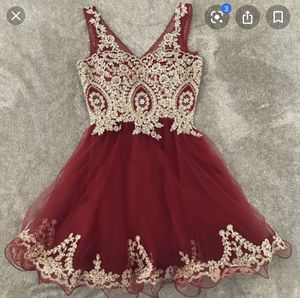 Red and cold dress for Sale in Portland, OR
