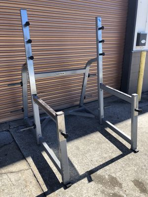 Nautilus Commercial Squat Rack- 6 Weight Pegs , Front Bar Holder for Sale in Davenport, FL