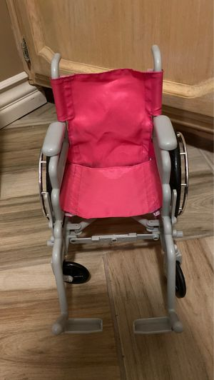 American girl doll wheel chair for Sale in Fresno, CA