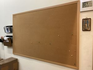 "LARGE Cork board for office or business 72"" x 46"" for Sale in Los Angeles, CA"