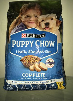 Puppy chow brand new! Never opened for Sale in Riverdale, GA