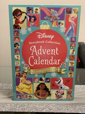 Christmas Advent Calendar- Disney Storybook Collection for Sale in Round Rock, TX